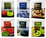 SCORIA Double Apple & Brain in Freezer & Chocolate & Kesar PAAN & Dubai Special & PAAN Kiwi Mint Assorted Hookah Molasses (Set of 6)