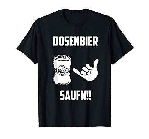 Bier Dosenbier Saufnn Llustiges Geschenk T-Shirt