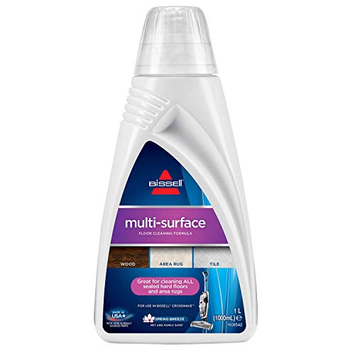 Bissell 1789L Multi-Surface reinigingsmiddel voor Crosswave, Crosswave Pet Pro, Spinwave en andere multifunctionele reinigingsapparaten, 1 x 1 liter