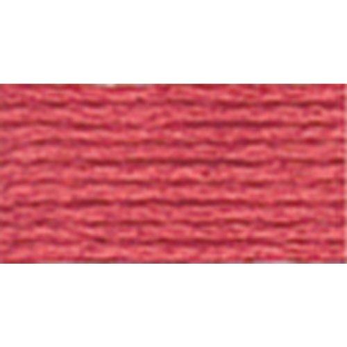 DMC 117–3328 Mouline strandboord, katoen, zes strand borduurdraad, donkere zalm, 8,7 yard, 12 per verpakking
