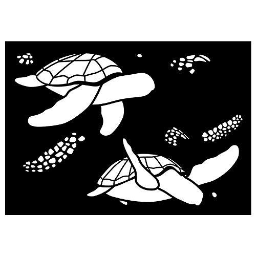Plantilla A4 - Tortugas Marinas
