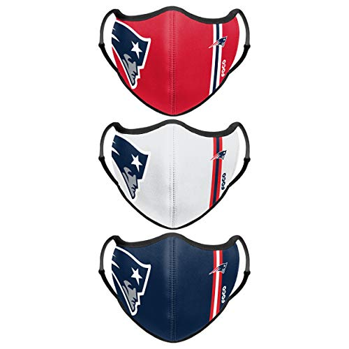 New England Patriots NFL Sport 3 Pack Face Cover