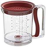 Swing-A-Way 4-Cup Easy Release Fat/Gravy Separator, Red