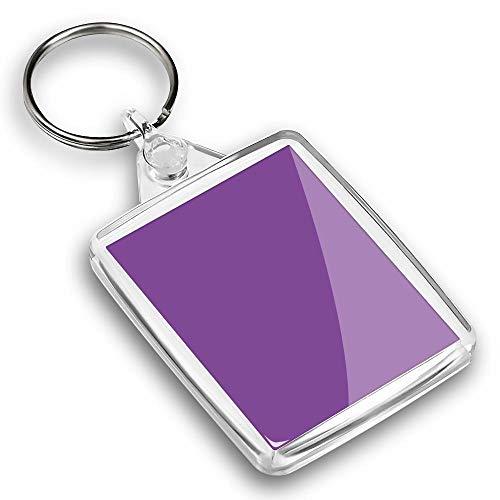 IP02 Passport Keyring - Deep Azure Purple Blue Colour Block |Keychain|Keyring|Charm|Gift #44858