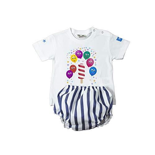 MI HIJA Y YO Conjunto de Camiseta y cubrepañal para bebé de 12-18 Meses Unisex