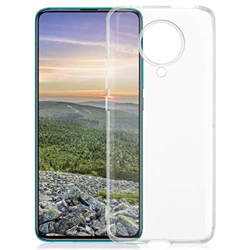 ROVLAK Custodia per Xiaomi Redmi K30 PRO Case Trasparente con Funzione Anti-Ingiallimento Cover Slim TPU Silicone+Custodia Resistente per Xiaomi Redmi K30 PRO Smartphone Case