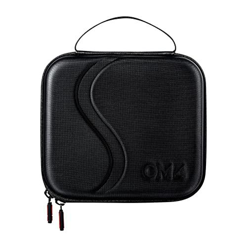 Hahepo Compatibile con DJI om 4 / Osmo Mobile3 valigia Gimbal Accessori a due vie con chiusura lampo in PU Borsa di protezione completa