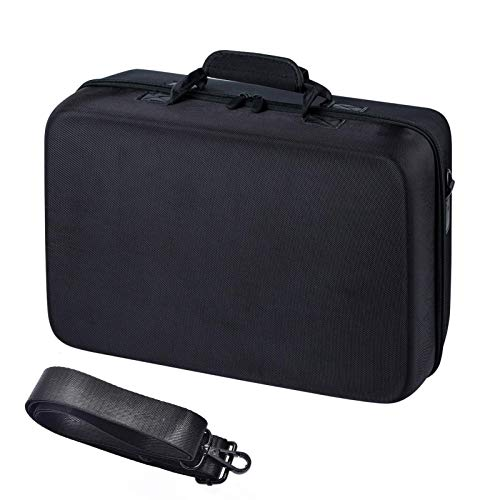 Carrying Case for PS5, Portable Shockproof Hard Carry Case, Waterproof Travel Storage Bag, PS5 Accessory Organizer for Playstation Controller