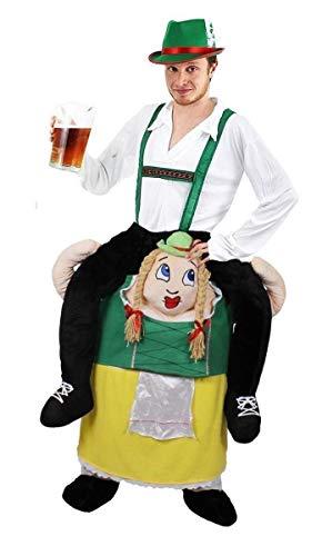 ILOVEFANCYDRESS Disfraz A Hombros DE Mujer Bavaria para Adultos con Disfraz DE Hombre BAVARIO con Sombrero Verde (M)