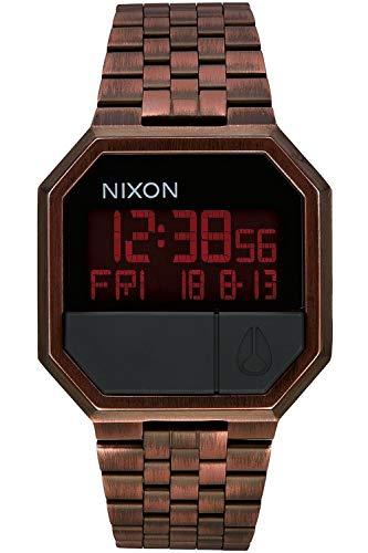 Nixon re-Run Reloj para Hombre Digital de Cuarzo con Brazalete de Acero Inoxidable A158894