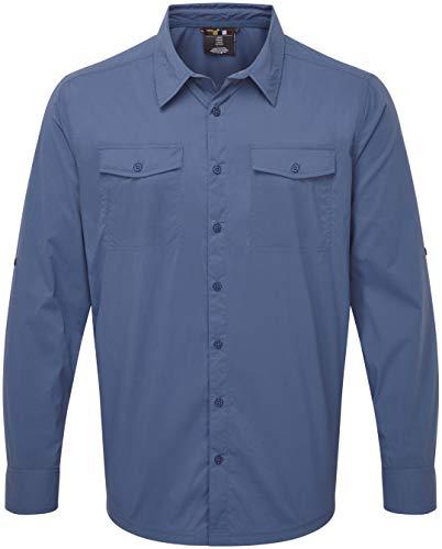 Sherpa Ravi Chemise Manches Longues Homme, neelo Blue Modèle XL 2020 T-Shirt Manches Longues