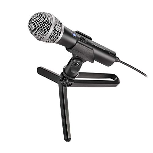 Audio-Technica ATR2100x-USB unidirektionales dynamisches Streaming/Podcasting-Mikrofon