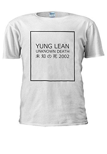 Yung Lean Unknown Death ? ? ?? Japan Novelty Men Women Unisex Top T Shirt-L
