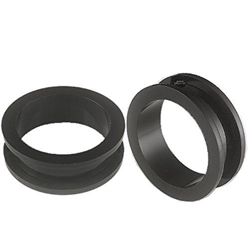 bodyjewelry top tunnel bk acrylic bk 28mm-de