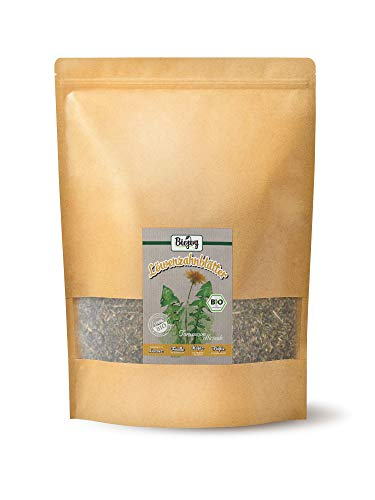 Biojoy Hojas de diente de león orgánico Taraxacum officinale (0,500 kg)