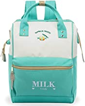 ZOMAKE Casual Travel Backpack, Stylish School Backpack with Wide Doctor Style Top Opening