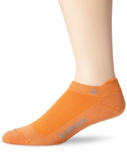 Wigwam Ironman Lightning Pro Low Cut Socke - Orange - Large
