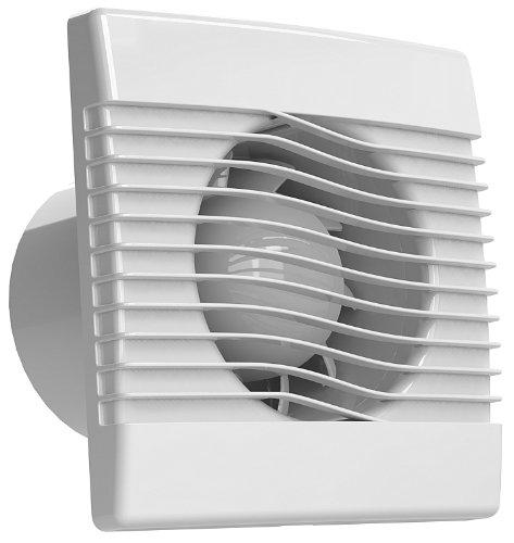Ventilator Badlüfter Wandventilator Lüfter Ø 100, 120, 150 mit Zugbandschalter, WC Bad Küche, AirRoxy pRim (Ø 100)