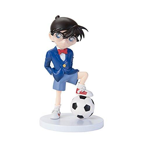 Detective Conan Edogawa Conan with Soccer Ball PVC Figura