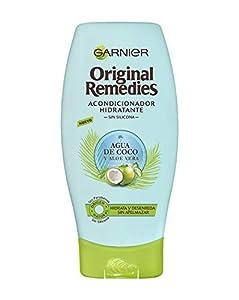 Garnier Original Remedies Acondicionador Hidratante Agua de Coco y Aloe Vera, para Pelo Normal - 250 ml
