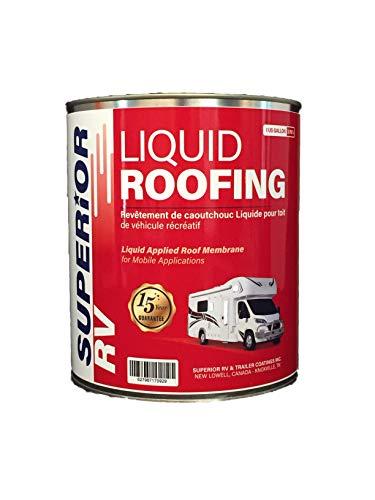 Superior RV Liquid Rubber Roof Coating 1 Gallon