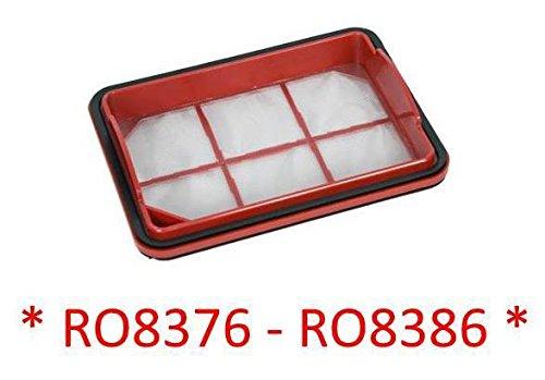 Rowenta - Filtre mousse pour aspirateur multi-cyclonique Silence Force RO8376, RO8386