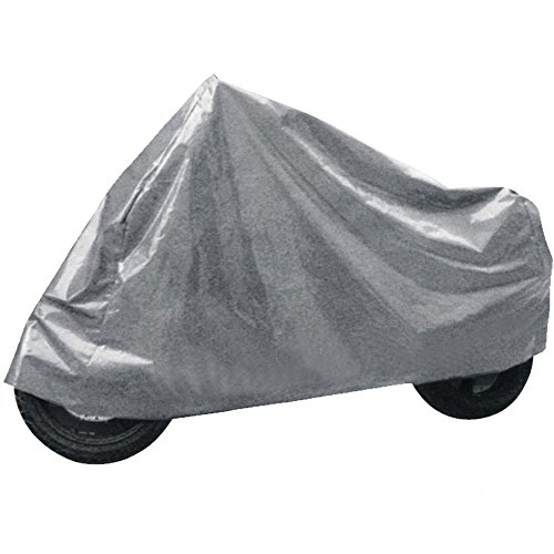 takestop/® Motorbike Cover Size L Nylon Waterproof PVC towel Ice Protection Sun Dirt Animals Motorbike Scooter 130/ x 230/ cm