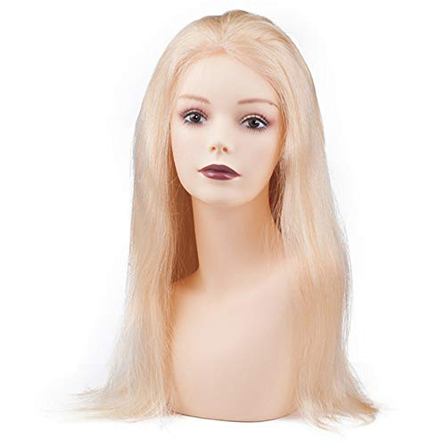 ZXCASD PVC Mannequin Tête, Femelle Modèle Long Cou Buste Porte Perruque Chapeau Bijoux Affichage Vitrine, Taille Unique