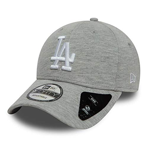 A NEW ERA Gorra 9Forty Winterised Dodgers by baseballgorra Beisbol (Talla única - Gris Claro)