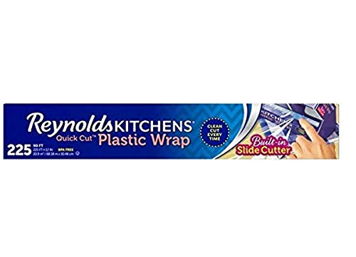 Reynolds Kitchens Quick Cut Plastic Wrap - 225 Sq Ft roll