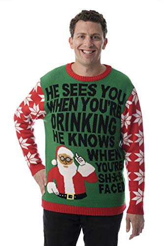 #followme Mens Ugly Christmas Sweater - Sweaters for Men 6774-217-XL