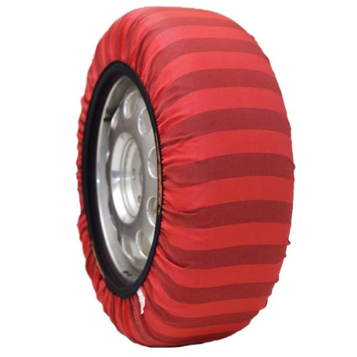 Isse Classic Paire de chaussettes à neige homologuées EU (alternative aux chaînes) pour pneus de taille – 285/50/20 Kit 74