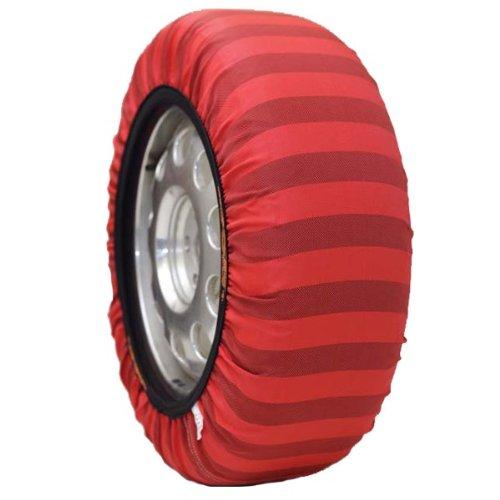 ISSE Classic Paire de chaussettes Neige EU approuvés (Alternative au Chaînes) pour pneu Taille–285/50/20Kit 74
