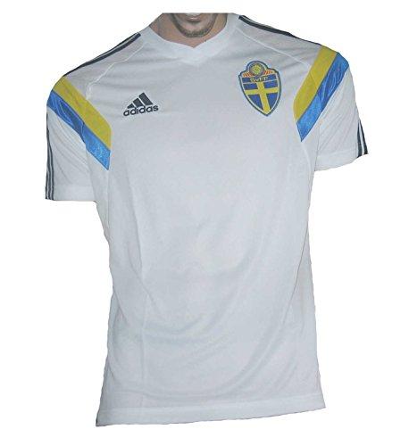 Schweden Trikot 2013/14 Training Adidas White (L)