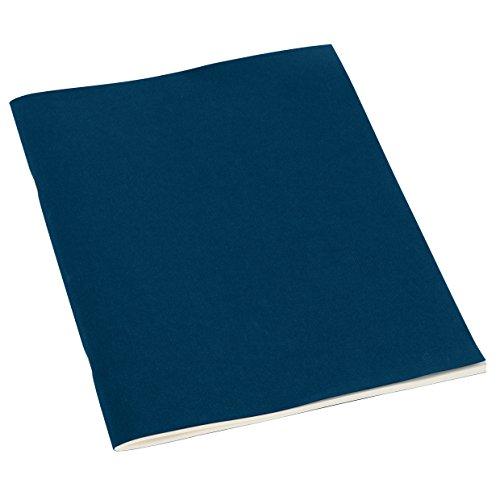 Semikolon (351837) Filigrane Heft liniert A4 marine (blau) - Schulheft mit 32 Blättern - 64 Seiten aus cremefarbenem 100 g/m2-Papier