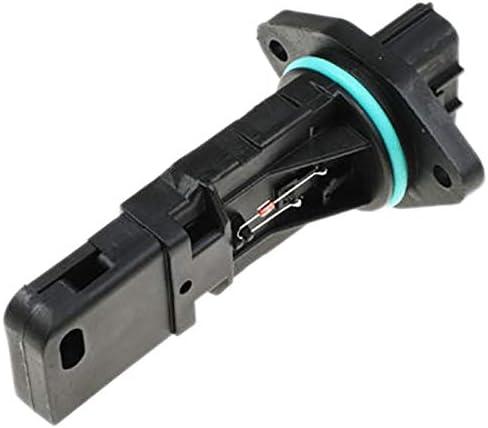 Sensor medidor de flujo de aire Medidor del caudal másico de aire en forma for Nissan Patrol en forma for el 4.8L TB48DE temprana TB48 GU MAF AFM 22680-VC201 (Color : Black)