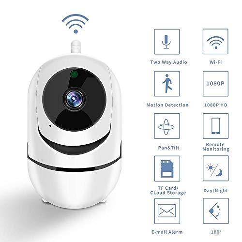 Generic Brands Intelligente WLAN-Kamera HD 1080P Cloud-Speicher Drahtlose IP-Kamera Automatische Verfolgung Der Persönlichen Sicherheitsüberwachung Heimsicherheitskamera