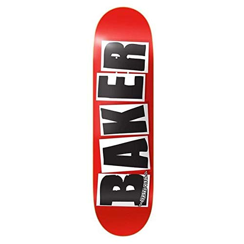 Baker Brand Logo 7.88' Red/Black Plateau...