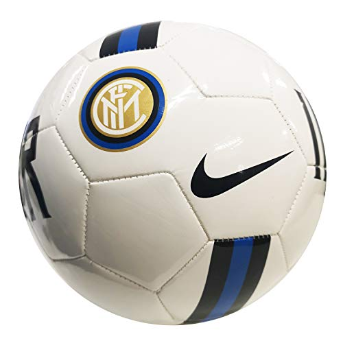 Nike INTER NK SPRTS SC3776-100 Pallone da Calcio, White/Black/Blue Spark 5