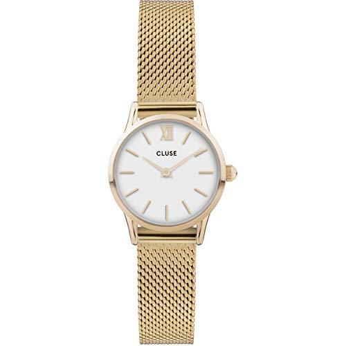 CLUSE Damen Analog Quarz Uhr mit Edelstahl Armband CW0101206001