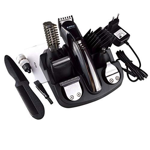 Profi-Haarschneidemaschine-Set | 5in1 Haarschneider | Konturenschneider | Bart Trimmer | Bartschneider | Langhaarschneider | Akku oder Netzbetrieb | 18 Aufsätze