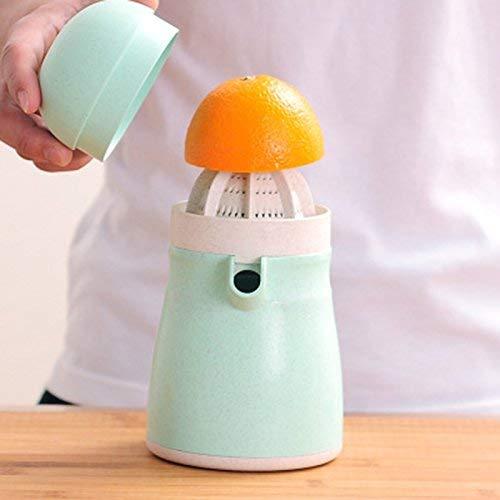 ZHAS 500 ML Manual Naranja Exprimidor Trigo Paja Material Penguin Juice Cup Citrus Lid Exprimidor De...