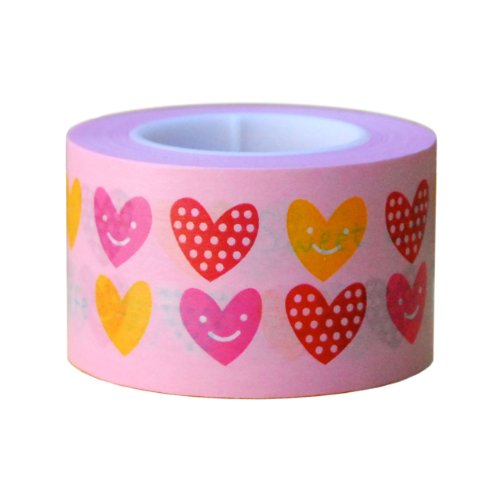 Ginko Papers Fun Tape, Hearts Wide by Ginko Papers