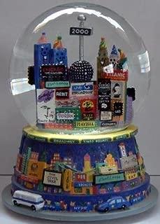 Bloomingdales ~ Musical SNOW GLOBE - 1999 New Years Eve