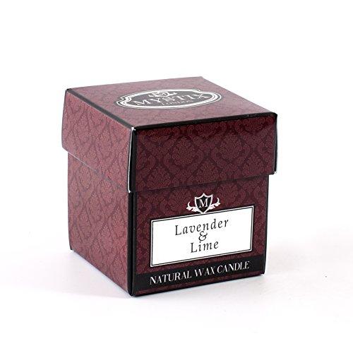 Mystix London Bougie parfumée Lavande et citron vert, 8 cl