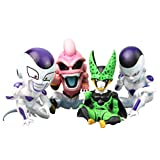 Anime Figurine Dragon Ball Z 4Pcs/Set 12Cm, Frieza Cell Majin Buu Dragon Ball Z Figure Action Model ...