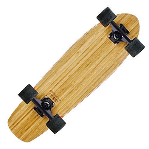 LJHBC Skateboard Completo 27 Pulgadas Tabla Corta Tabla De Surf Adecuado for Adolescentes Adultos. Monopatín De Carretera Principiante Rueda De Desgaste Alto Elástico 78A