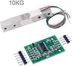 Load Cell 10KG Amplifier HX711 Breakout, Digital Portable Kitchen Scale Weight Sensor AD Module Weighing for Arduino Raspberry Pi, DIYmall
