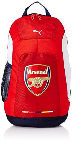 PUMA Rucksack Arsenal Graphic Backpack Mochila, rojo/azul/blanco (Red-Estate blue-White), UA Unisex Adulto