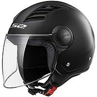 LS2Casco Moto of562Airflow, Matt black Long, XL
